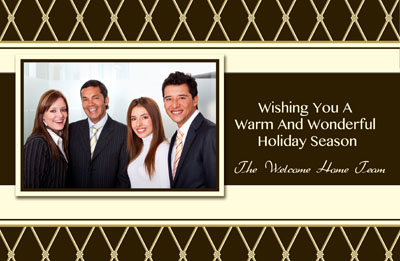 Holiday Christmas New Years Postcards For Realtors And